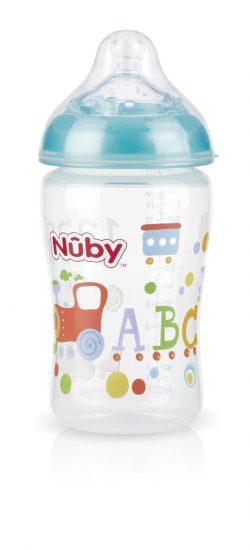 בקבוקי האכלה מבית NUBY, 15 שח במקום 37.90 שח- מחיר מיוחד לתערוכת בייבילנד, יחצ חול (2)