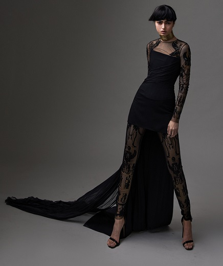 Kim Kassas Couture בקולקציית Walk like an Egyptian