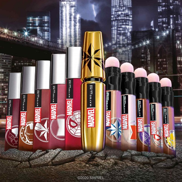 marvel collection maybelline NY 2020