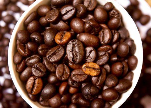 מסכות פנים עם קפה